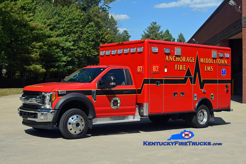 Anchorage Middletown Med 9987 <br /> 2019 Ford F-550 4x4/Horton <br /> Kent Parrish photo