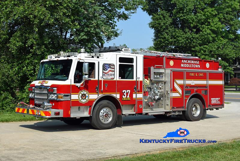 Anchorage Middletown Engine 9937<br /> x-Worthington <br /> 2010 Pierce Velocity 1500/750/30<br /> Kent Parrish photo