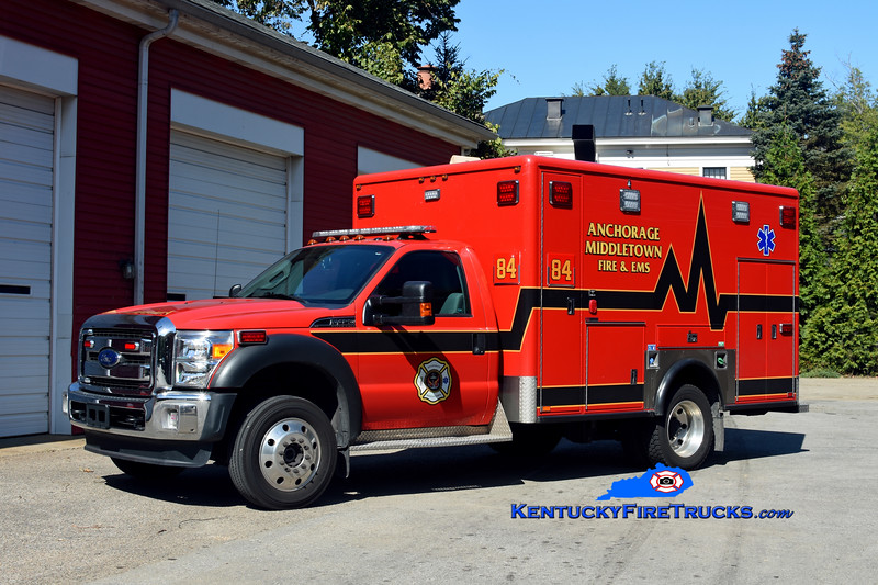 RESERVE<br /> Anchorage Middletown Med 9984 <br /> x-Anchorage<br /> 2017 Ford F-450 4x4/2007 Horton<br /> Kent Parrish photo