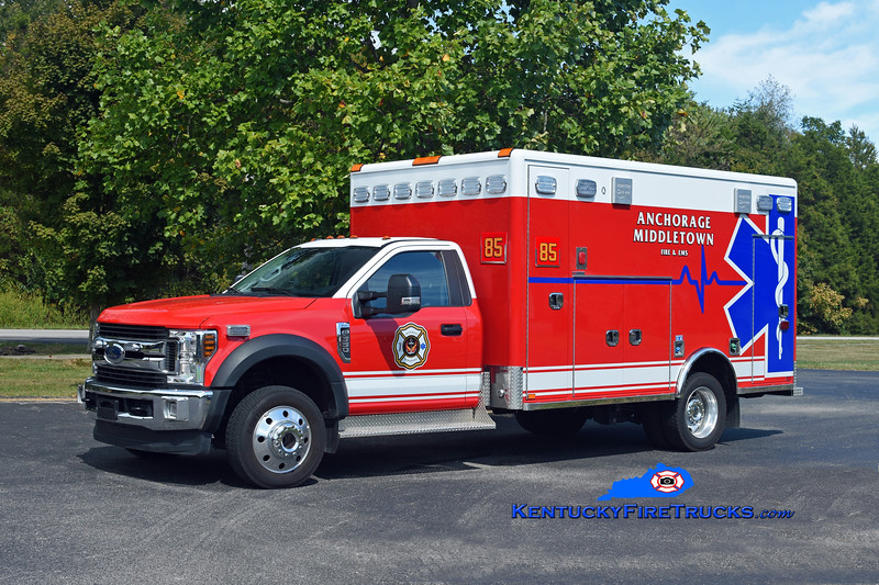 Anchorage Middletown Med 9985<br /> x-Eastwood<br /> 2018 Ford F-550 4x4/Horton<br /> Kent Parrish photo