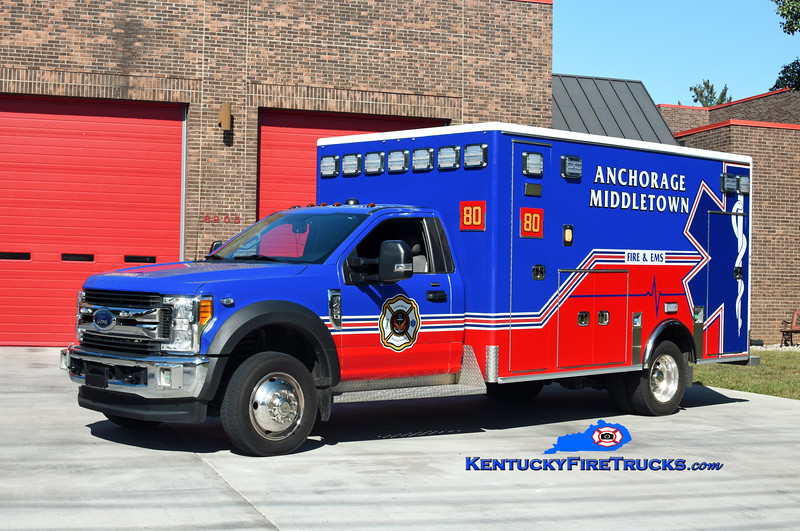 RESERVE  <br /> Anchorage Middletown Med 9980 <br /> x-Harrods Creek<br /> 2017 Ford F-450 4x4/Medix<br /> Kent Parrish photo