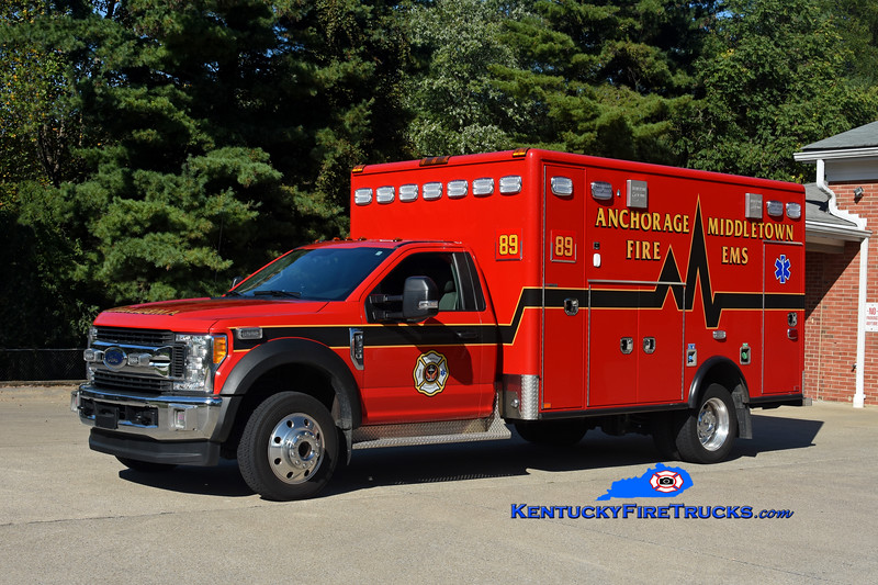 Anchorage Middletown Med 9989<br /> 2017 Ford F-550 4x4/Horton <br /> Kent Parrish photo
