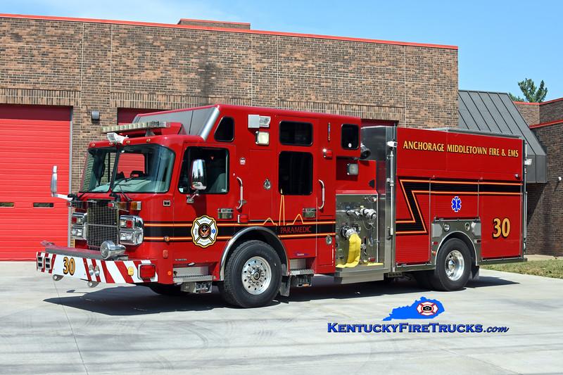 Anchorage Middletown Engine 9930<br /> x-Harrods Creek<br /> 2007 Spartan Gladiator/Custom Fire 1500/600/10/40<br /> Kent Parrish photo