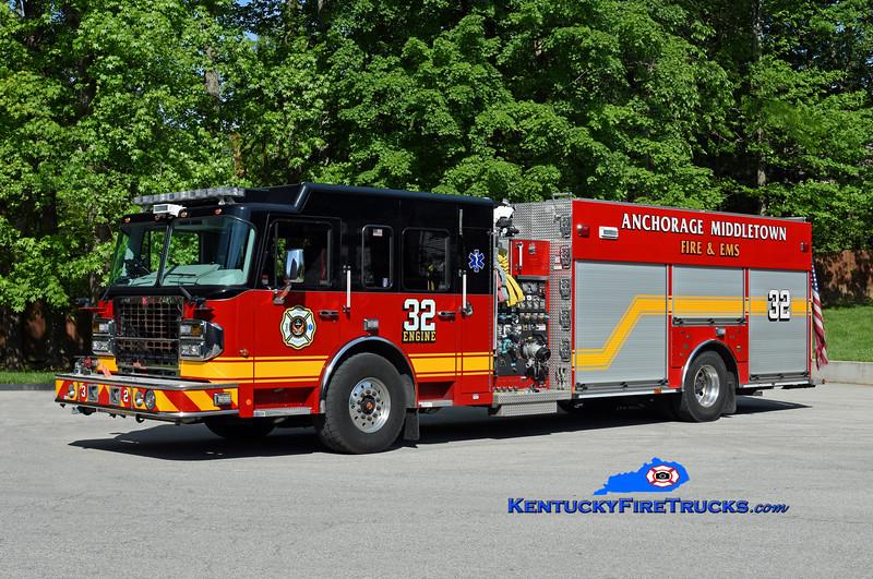 Anchorage Middletown Engine 9932<br /> x-Middletown, x-Quad 9942  <br /> 2017 Spartan Gladiator/Smeal 1500/500/20/Quad<br /> Kent Parrish photo