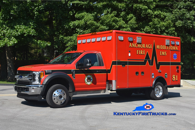 Anchorage Middletown  Med 9981<br /> 2017 Ford F-550 4x4/Horton<br /> Kent Parrish photo