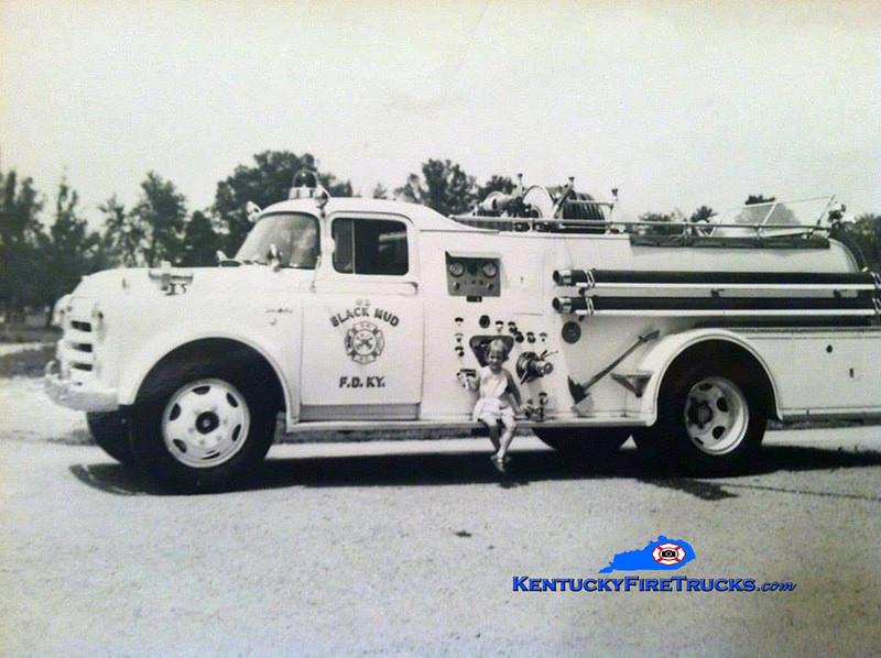 RETIRED<br /> Black Mudd Engine 62 <br /> 1953 Dodge/Oren 500/500<br /> Kent Parrish collection