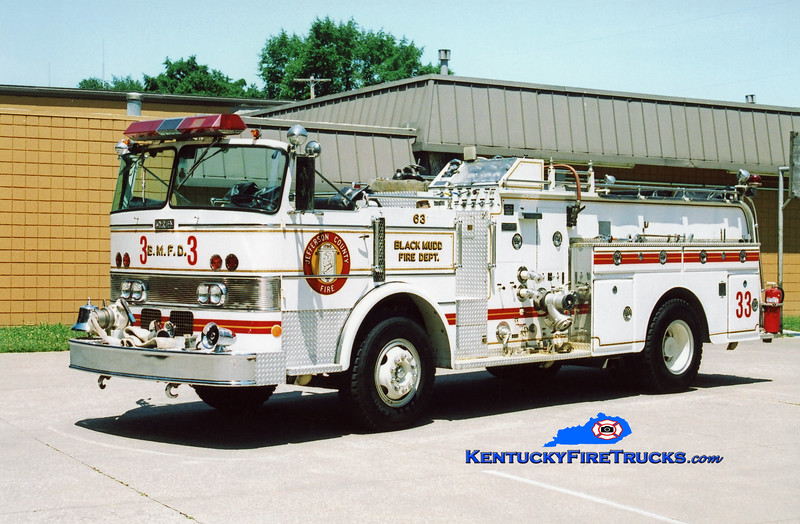 <center> NO LONGER IN SERVICE <br> Black Mudd Engine 6033 <br> 1972 Duplex/Oren 1000/500 <br> Kent Parrish photo </center>