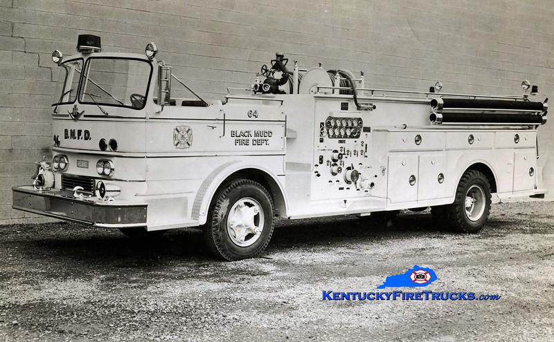 RETIRED<br /> Black Mudd Engine 6034<br /> 1964 International CO-8190/Oren 1000/300<br /> Kent Parrish collection
