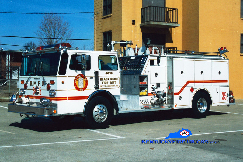 <center> NO LONGER IN SERVICE <br> Black Mudd Engine 6035 <br> 1982 Duplex D-250/Grumman-Oren 1500/750 <br> Greg Stapleton photo </center>