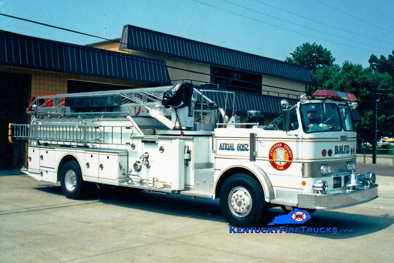 <center> NO LONGER IN SERVICE <br> Black Mudd Aerial 6052 <br> 1968 Duplex/Oren/Grove 1000/200/65' <br> Greg Stapleton photo </center>