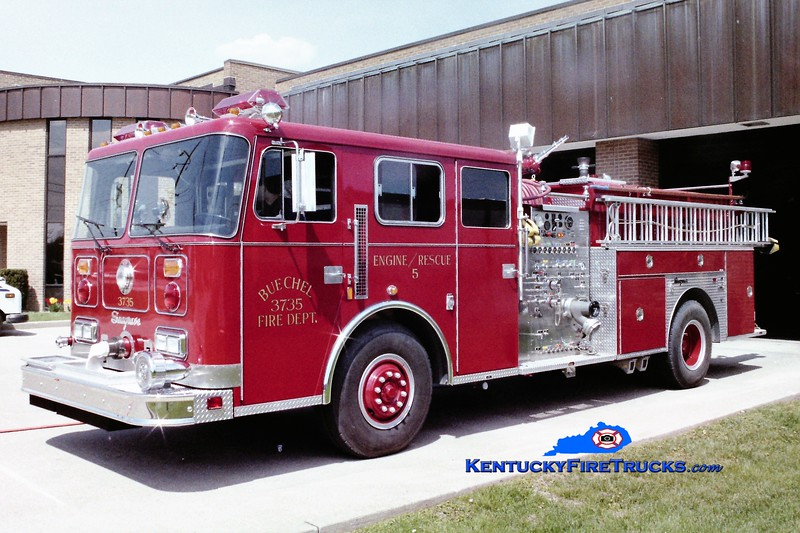 PRIVATELY OWNED <br /> Buechel Engine 3735<br /> 1988 Seagrave JB 1500/750<br /> Greg Stapleton photo