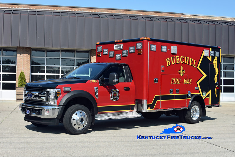 Buechel  Medic 3780<br /> 2019 Ford F-550 4x4/Horton<br /> Kent Parrish photo