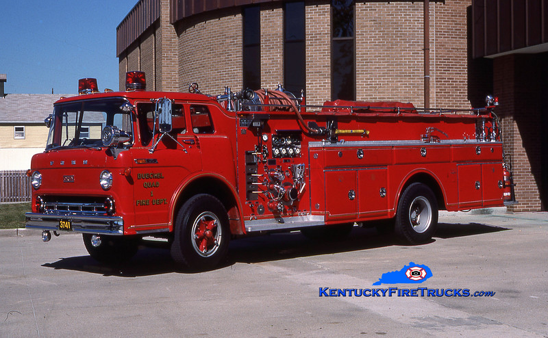 RETIRED<br /> Buechel Quad 3741 <br /> 1968 Ford C-800/Oren 1000/500<br /> Kent Parrish collection