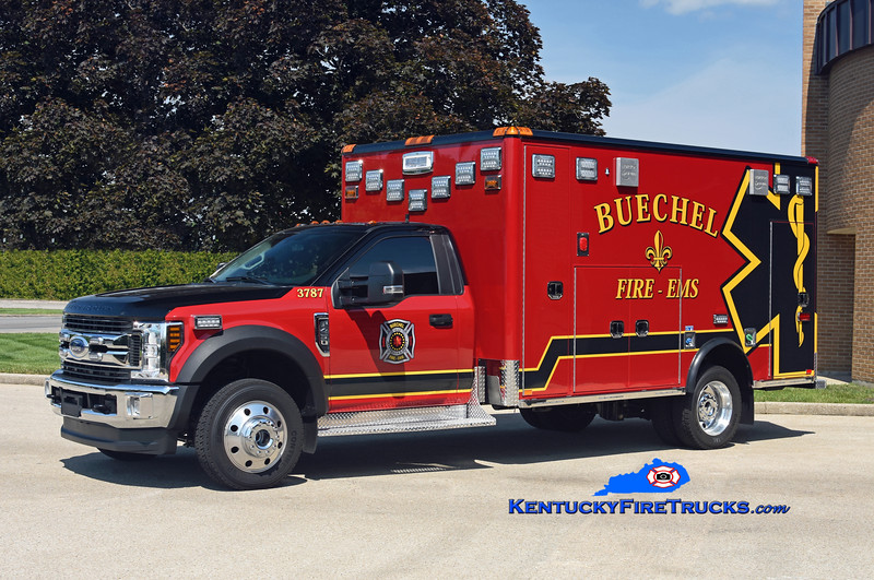 Buechel  Medic 3787<br /> 2018 Ford F-450 4x4/Horton<br /> Kent Parrish photo