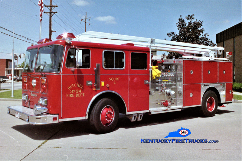 RETIRED <br /> Buechel Squrt 3734<br /> 1991 Seagrave JB 1500/500/54' Squrt<br /> Greg Stapleton photo