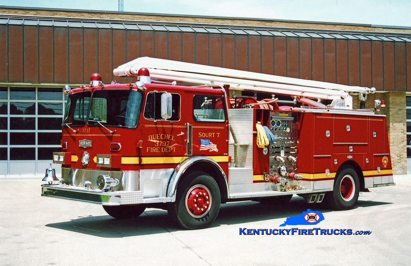 <center> RETIRED <br> Buechel  Squrt 3737 <br> 1980 Pirsch 1500/500/54' Squrt <br> Kent Parrish photo <center>
