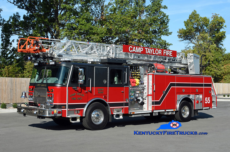 Buechel Quint 3755<br /> x-Camp Taylor, KY<br /> 2019 E-One Cyclone II 2000/500/78' <br /> Kent Parrish photo