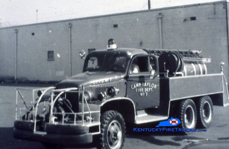 RETIRED <br /> Camp Taylor Engine 7<br /> x-Military  <br /> GMC/FD 500/825<br /> Kent Parrish collection