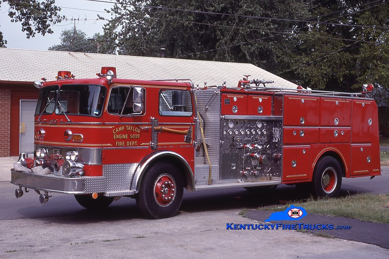 RETIRED<br /> Camp Taylor Engine 5039 <br /> 1978 Duplex/Oren 1250/750<br /> Kent Parrish collection