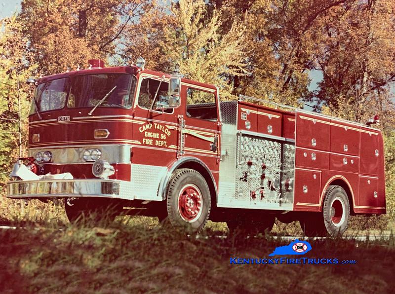 RETIRED<br /> Camp Taylor Engine 5036<br /> 1974 Duplex/Oren 1250/800 <br /> Kent Parrish collection