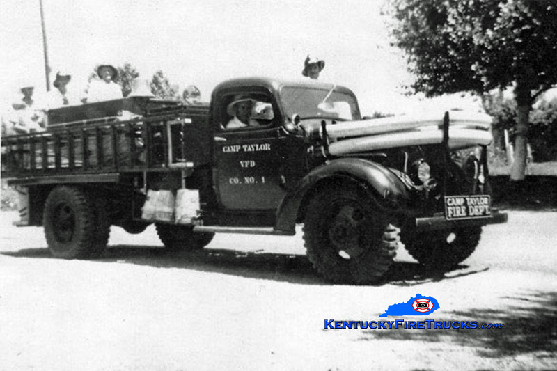 RETIRED <br /> Camp Taylor Engine 1 <br /> x-RC Cola <br /> 1937 Chevy/FD <br /> Kent Parrish collection