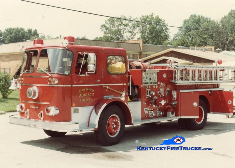 RETIRED <br /> Camp Taylor Engine 5027<br /> x-Purdue University FD, IN<br /> 1965 Seagrave KB 1000/500<br /> Kent Parrish collection