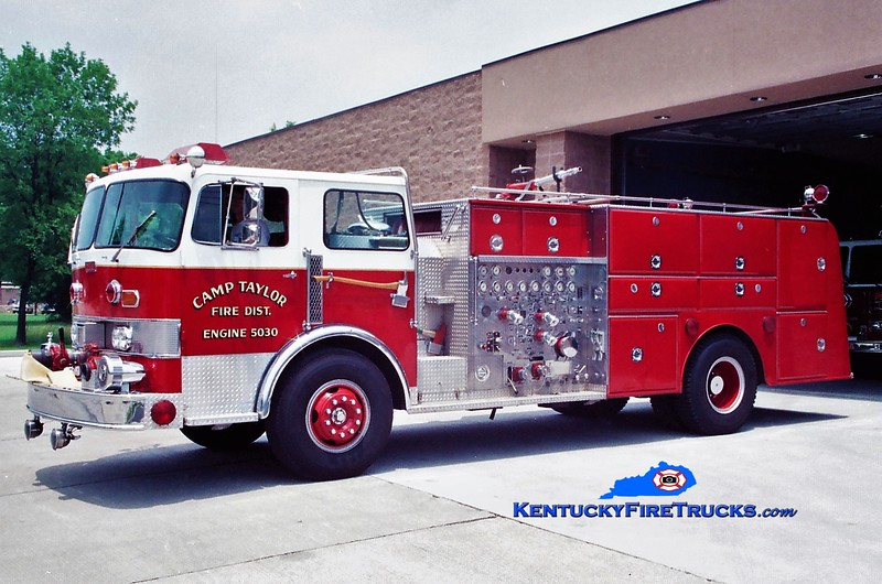 RETIRED<br /> Camp Taylor Engine 5030 <br /> 1974 Duplex/Oren 1250/800 <br /> Greg Stapleton photo