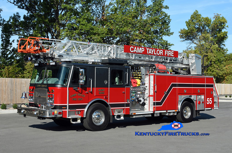 Camp Taylor Quint 5055<br /> 2019 E-One Cyclone II 2000/500/78' <br /> Kent Parrish photo