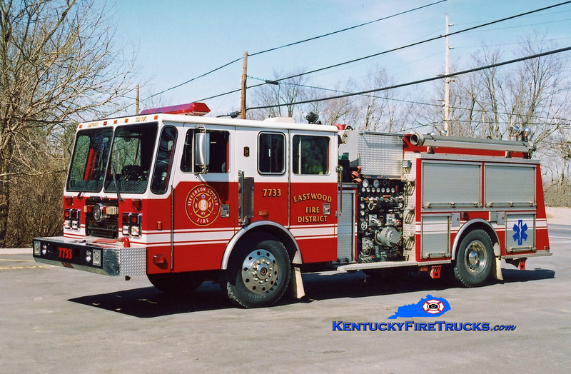 <center> RETIRED <br> Eastwood Engine 7733 <br> 1995 KME Renegade 1250/750  <br> Kent Parrish photo </center>