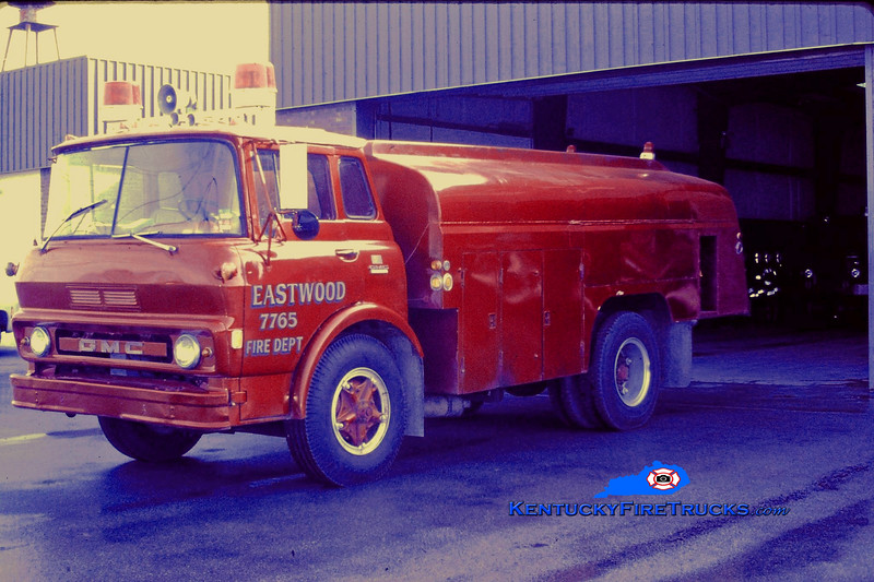RETIRED<br /> Eastwood Tanker 7765<br /> 1969 GMC 0/2000<br /> Kent Parrish collection