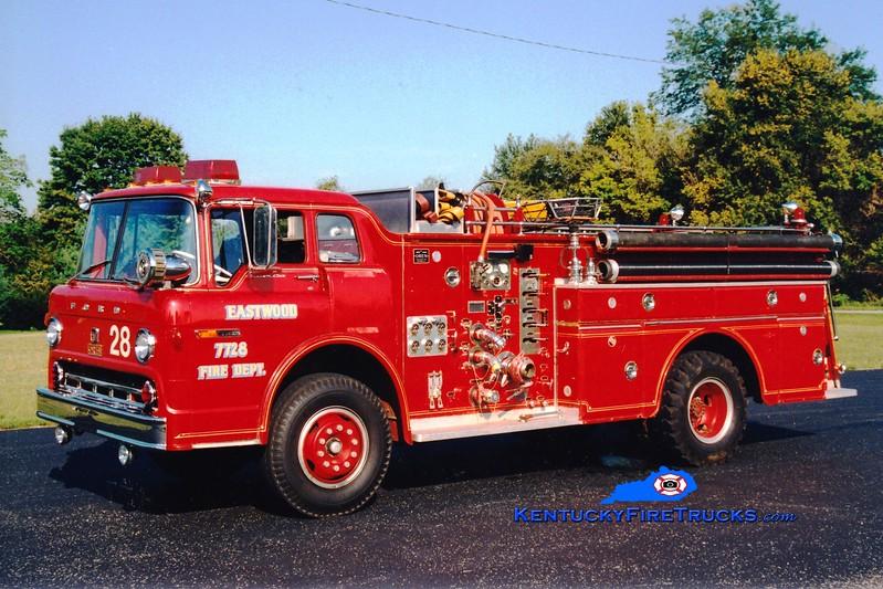 <center> RETIRED <br> Eastwood Engine 7728 <br> x-Buechel, KY <br> 1970 Ford C-900/Oren 1000/800 <br> Greg Stapleton photo </center>