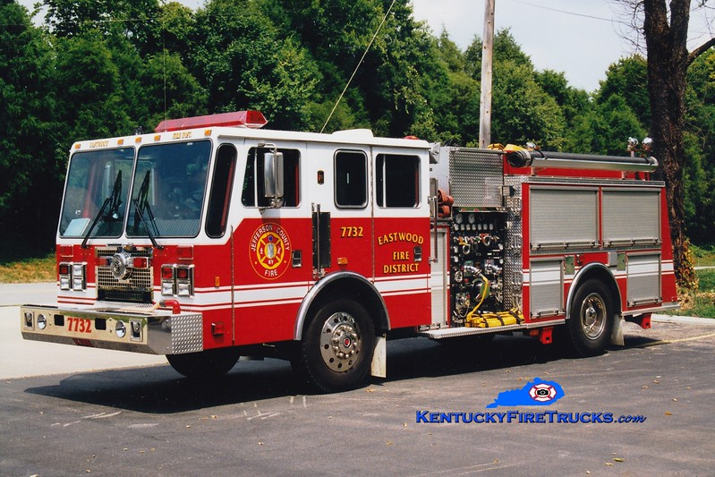 <center> RETIRED <br> Eastwood Engine 7732 <br> 1995 KME Renegade 1250/750  <br> Greg Stapleton photo </center>