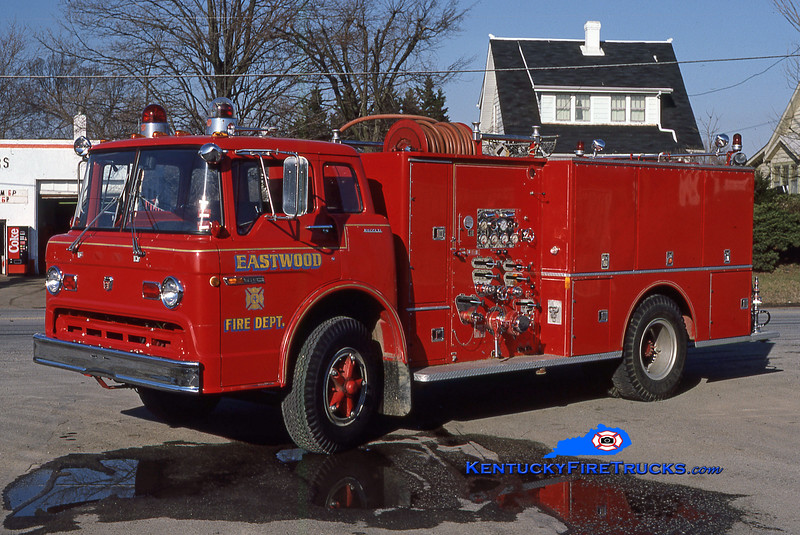 RETIRED<br /> Eastwood Engine 7724<br /> 1972 Ford C-900/Boyer 1000/650<br /> Kent Parrish collection