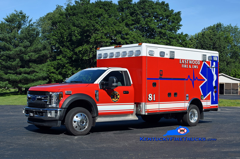 Eastwood  Medic 7781<br /> 2018 Ford F-550 4x4/Horton<br /> Kent Parrish photo