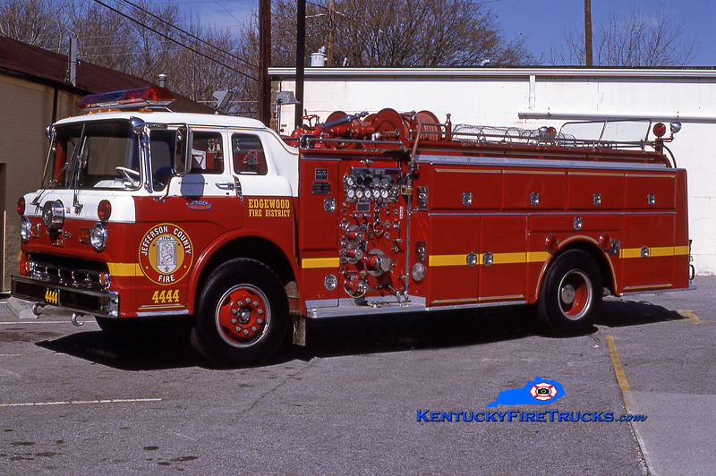 RETIRED<br /> Edgewood Quad 4444<br /> 1965 Ford C-850/Oren 1000/500<br /> Kent Parrish collection