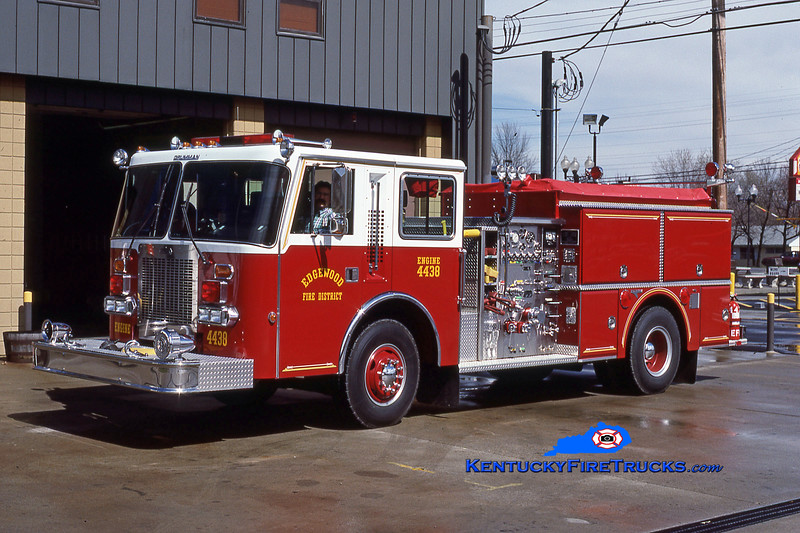 RETIRED<br /> Edgewood Engine 4438<br /> 1987 Duplex D-500/Grumman 1250/1000<br /> Kent Parrish collection