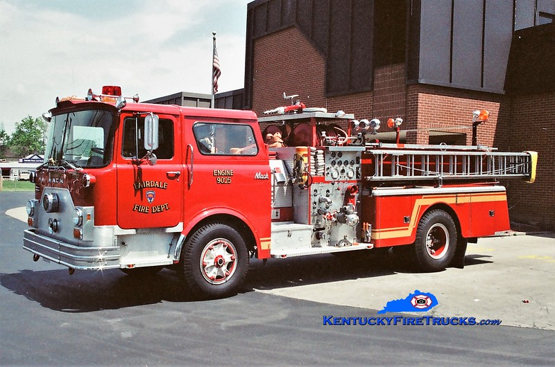RETIRED <br /> Fairdale Engine 9025 <br /> 1978 Mack CF 1000/500 <br /> Greg Stapleton photo