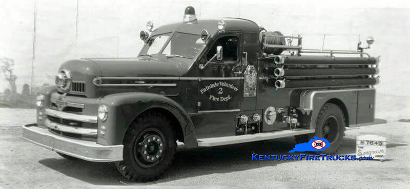 RETIRED<br /> Fairdale Engine 2<br /> 1955 Seagrave 750/300<br /> Kent Parrish collection
