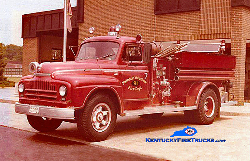 Fairdale Engine 91<br /> 1951 International/Luverne 500/500<br /> Kent Parrish collection