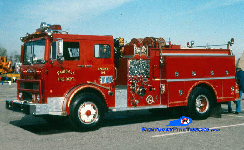 RETIRED <br /> Fairdale Engine 94<br /> 1978 Mack MB/Howe 1000/500<br /> Kent Parrish collection
