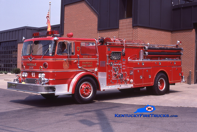 RETIRED<br /> Fairdale Quad 93 <br /> 1966 International CO-8190/Oren 1000/500<br /> Kent Parrish collection