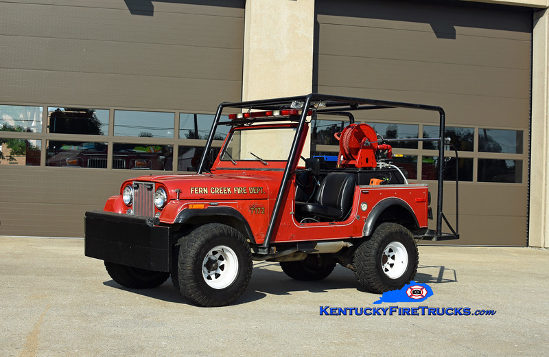 Fern Creek  Forestry 7172<br /> 1978 Jeep CJ-7 4x4/2018 FCFD/CET 70/75<br /> Kent Parrish photo