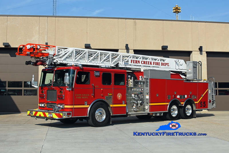 Fern Creek Quint 7155 <br /> 2000/2018 Seagrave Marauder 2000/300/100' <br /> Kent Parrish photo