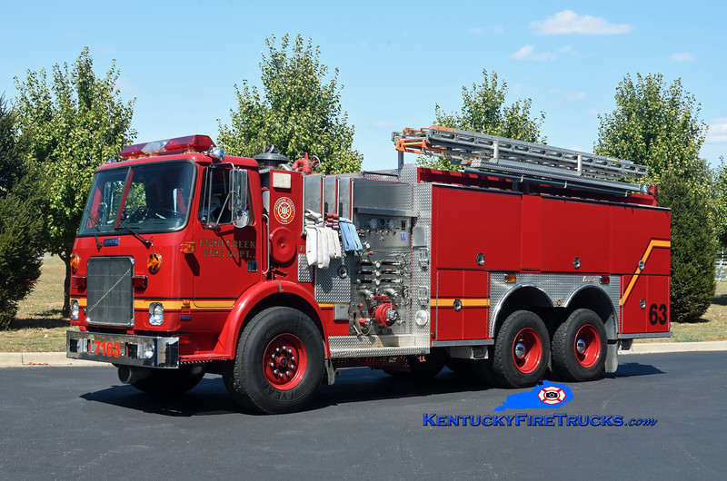 Fern Creek Tender 7163<br /> 1983 White/1985 Pirsch/2003 Summit 1250/1950<br /> Kent Parrish photo