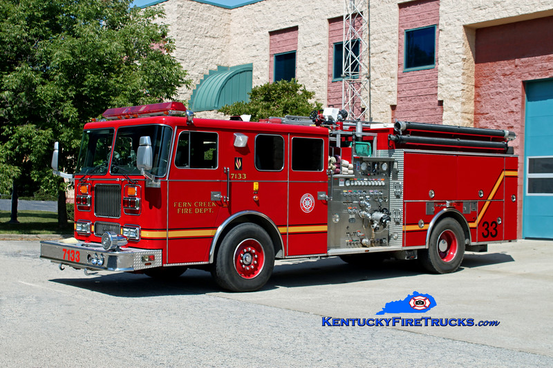 Fern Creek  Engine 7133<br /> 1993 Seagrave Marauder 2000/750<br /> Kent Parrish photo