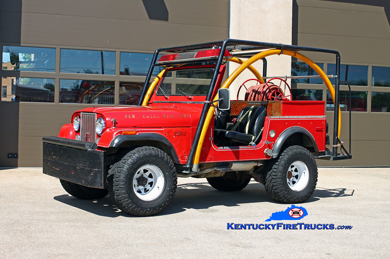 Fern Creek  Forestry 7172<br /> 1978 Jeep CJ-7 4x4/Local 75-50<br /> Kent Parrish photo