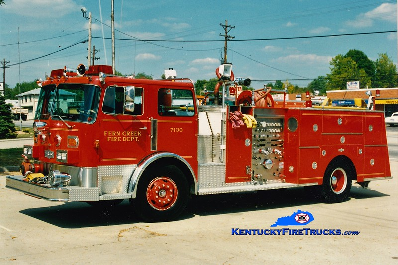 Fern Creek Engine 7130 <br /> 1980 Pirscsh 1750/500 <br /> Greg Stapleton photo
