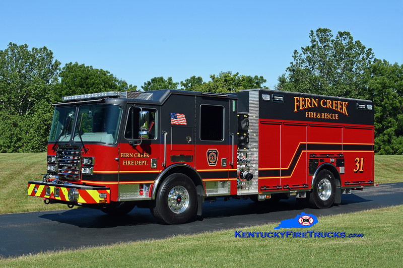 Fern Creek Engine 7131<br /> 2020 KME Severe Service 1500/500/20<br /> Kent Parrish photo