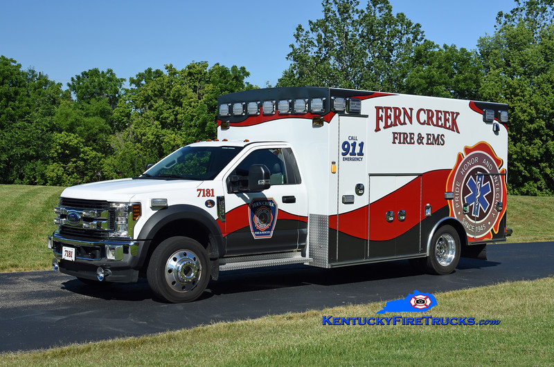 Fern Creek Med 7181<br /> 2020 Ford F-550 4x4/Braun<br /> Kent Parrish photo