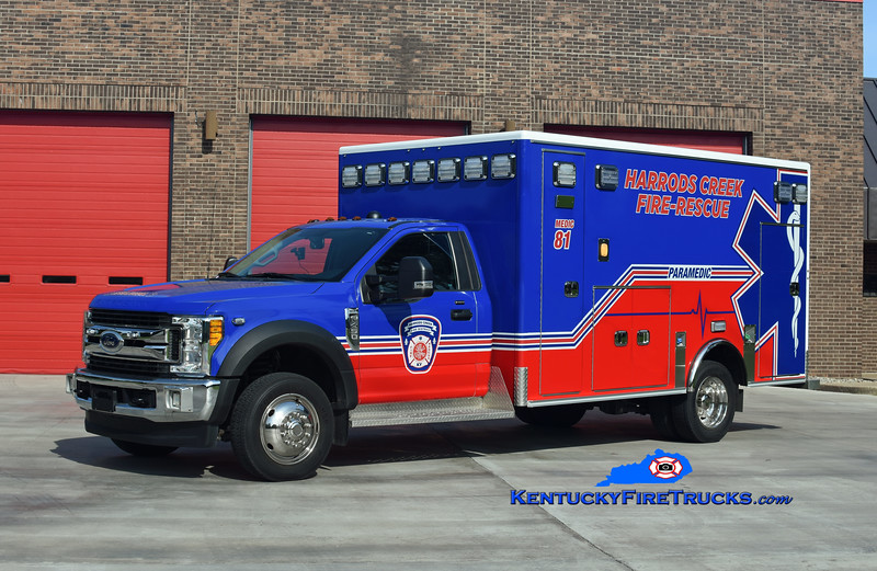 Harrods Creek  Medic 1281<br /> 2017 Ford F-450 4x4/Medix <br /> Kent Parrish photo